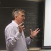 Author Thomas Maltman speaks at a creative writing workshop.