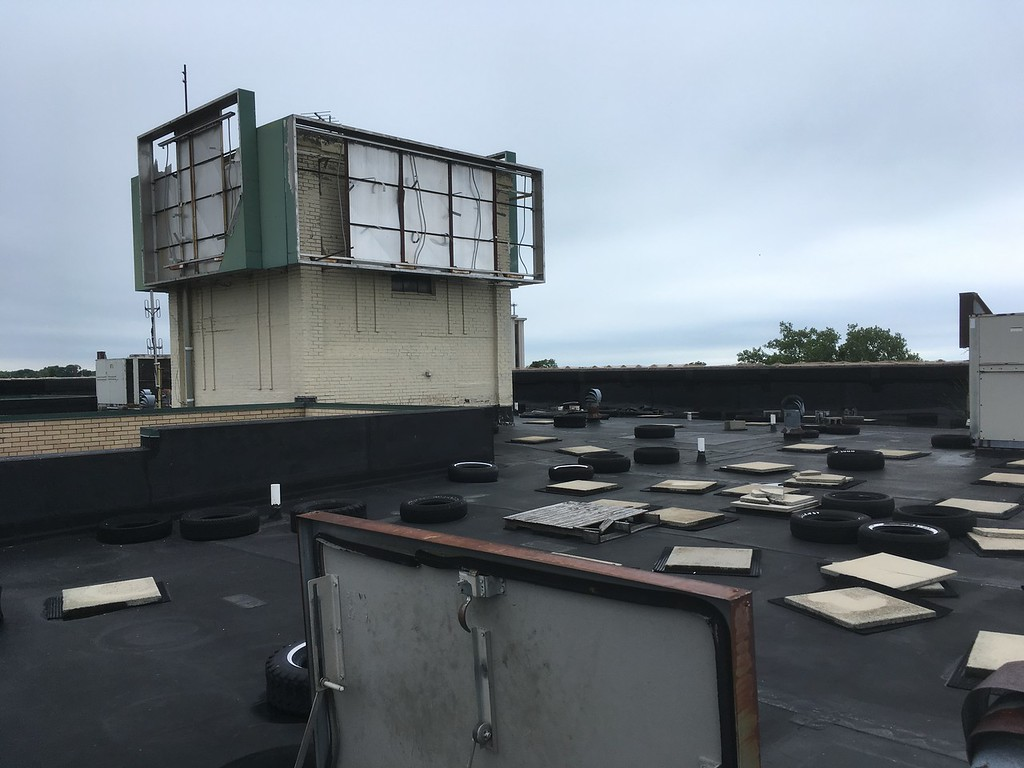 . Zachary Srnis - The Morning Journal <br> A look at the roof which will be turned into an event space.