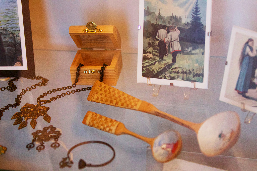 . Jonathan Tressler � The News-Herald <br> A Sample of some of the artifacts on display at the Finnish Heritage Museum in Fairport Harbor.