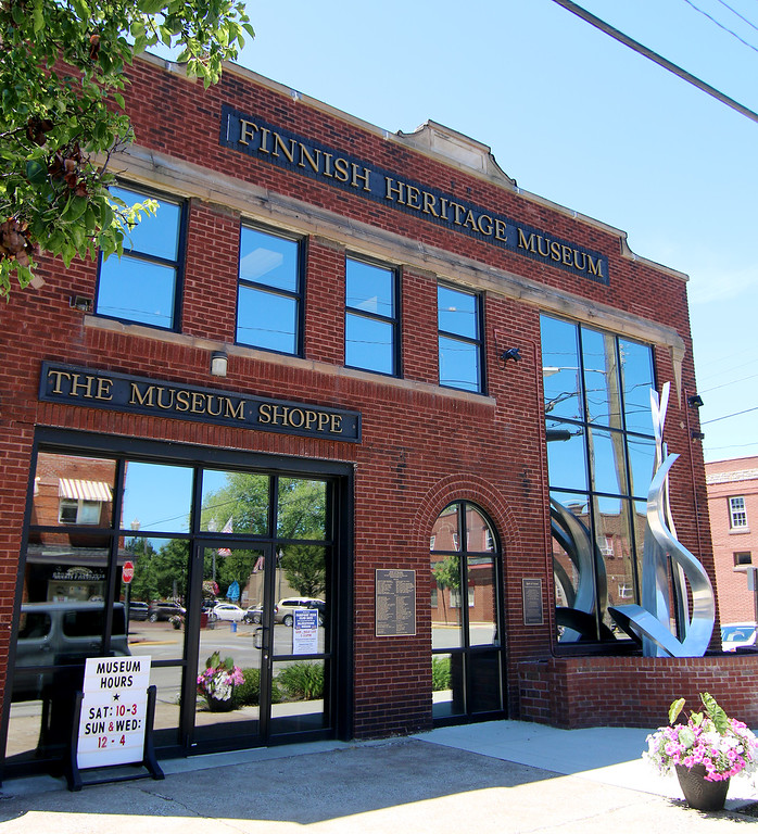 . Jonathan Tressler � The News-Herald <br> The Finnish Heritage Museum, 301 High St. in Fairport Harbor Village.