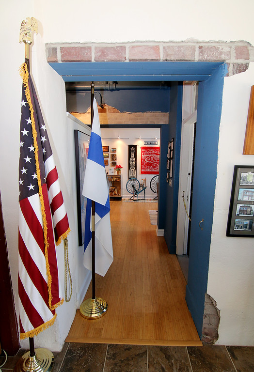 . Jonathan Tressler � The News-Herald <br> A look inside the display area of the Finnish Heritage Museum in Fairport Harbor.