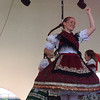 Kevin Martin — The Morning Journal <br> Members of the Lorain Hungarian Folk Dancers perform on the main stage at Black River Landing during the 51st annual Lorain International Festival.