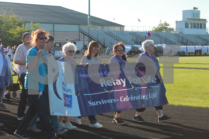 Deanna Frances for Shaw Media<br /> Relay for Life DeKalb County on Saturday at Sycamore High School
