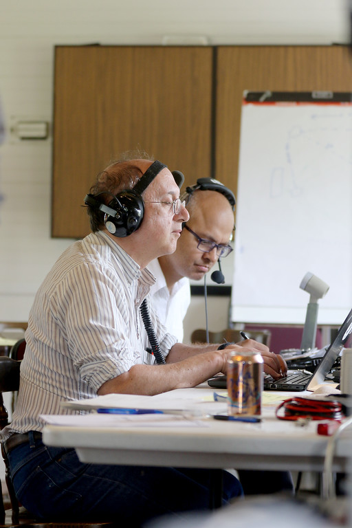 . Jonathan Tressler - The News-Herald. A scene from the American Radio Relay League�s annual Field Day Exercise June 24 at Case Western Reserve University�s Squire Valleevue Farm in Hunting Valley.