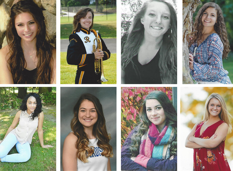 These eight young women will partake in this time-tested tradition in hopes of being crowned queen of Fairport Harbor's favorite five-day festival, Mardi Gras.