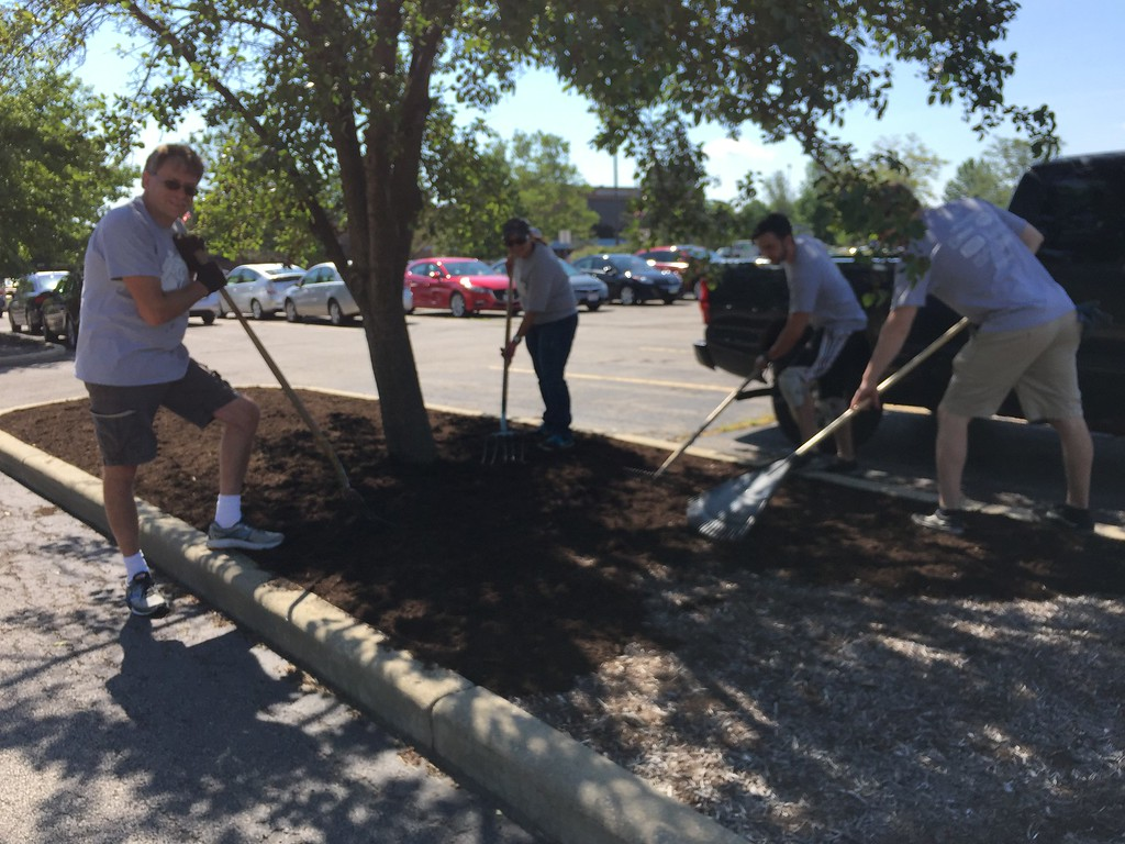 . Volunteers were hard at work during United Way of Lake County\'s 25th annual Day of Caring on Wednesday June 28, 2017. (Submitted)