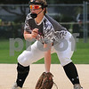 Kishwaukee Valley Storm player Ashley Peterson plays first base during Storm Dayz tournament action on Sunday in Sycamore.  Steve Bittinger - For Shaw Media