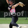 Kishwaukee Valley Storm 18U player Hannah Mizgalski delivers a pitch in a tournament game on Friday in Sycamore.  Steve Bittinger - For Shaw Media
