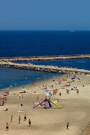 Europe, Romania, Black Sea Coast, Constanta, beach