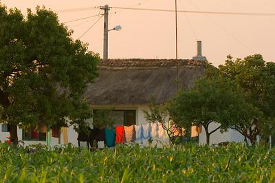 Europe, Romania, The Dobrogea, country house