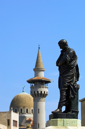 Europe, Romania, Black Sea Coast, Constanta, Mahmudiye Mosque