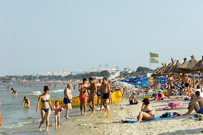 Europe, Romania, Black Sea Coast, Mamaia , beach