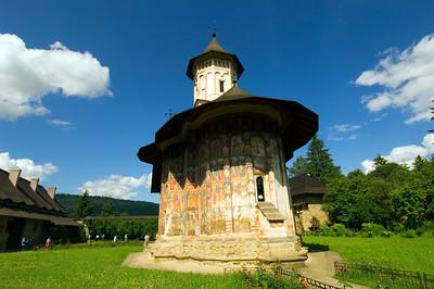Europe, Romania, Moldavia ,Bucovina, Moldovita Monastery