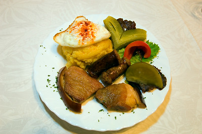 Europe, Romania, Moldavia ,Bucovina, traditional home cooking at private residence, homestay