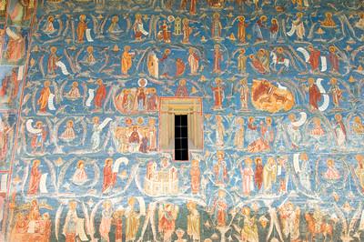 Europe, Romania, Moldavia ,Bucovina, Voronet Monastery