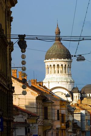 Europe, Romania, Transylvania , Cluj-Napoca, dome of Orthodox Cathedral