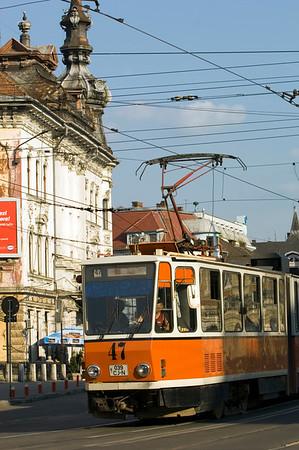 Europe, Romania, Transylvania , Cluj-Napoca, street scene, street Horea