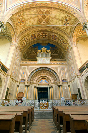 Europe, Romania, The Banat, Oradea , synagogue