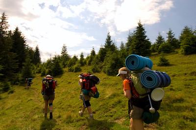 Europe, Romania, Transylvania, The Apuseni Mountains, hiking