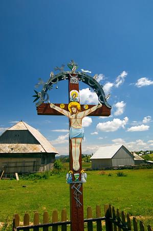 Europe, Romania, Transylvania, The Apuseni Mountains, Marisel village,