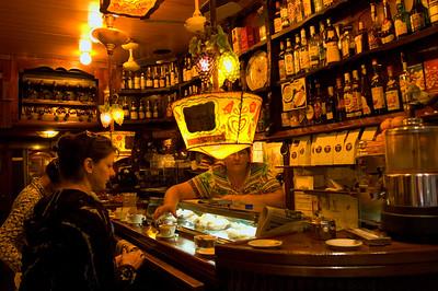""" Mason del Cafe "" Cafe-bar in Barri Gotic, Barcelona, Catalonia, Spain"