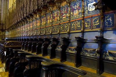 Main altar, Cathedral, Barcelona, Catalonia, Spain