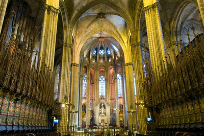 Cathedral, Barcelona, Catalonia, Spain