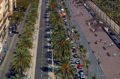 Passeig de Colom, Barcelona, Catalonia, Spain