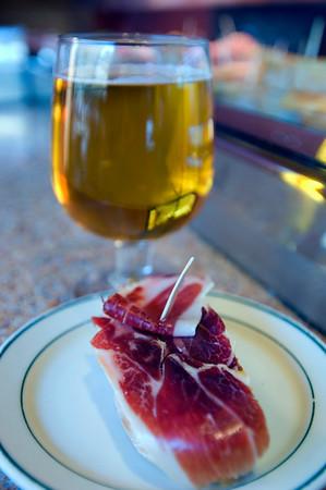 Tapas bar, Barcelona, Catalonia, Spain