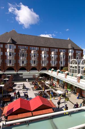 Inner courtyard of Ealing Broadway shopping Centre, Ealing, W5, London, United Kingdom