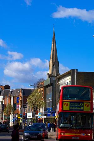 Uxbridge Road in Ealing Broadway, W5