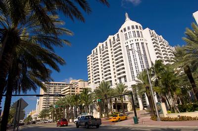 United States Of America, Florida, Miami, Collins Avenue in South Beach