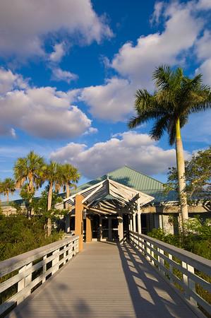 Royal Palm Visitors Center, Everglades, Florida, USA