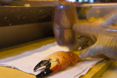 United States Of America, Florida, Miami, South Beach, Joe's Stone Crab Restaurant
