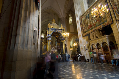 Poland, Cracow, Wawel Cathedral; interior