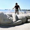 Revere sandsculpture