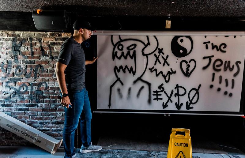 7 24 19 Lynn anti semetic vandalism 9