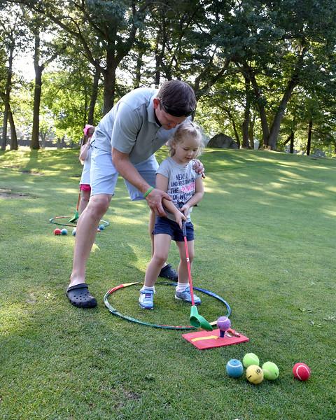 Sports. Lynn. Gannon Golf Clinic 6