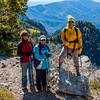 La Luz Trail from Sandia Crest