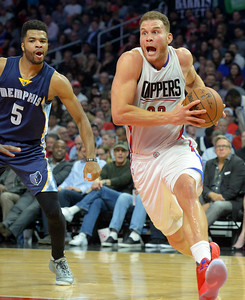 L.A.Clippers host Memphis Grizzlies at the STAPLES Center in Los Angeles, CA. Wednesday, November 16, 2016. (Photo by Thomas R. Cordova, Daily News/SCNG)