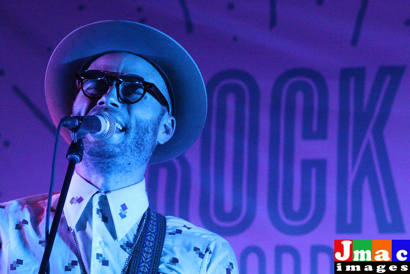 Charley Crockett performed at Rock the Border concert series at On the Border Grill and Cantina Addison Texas on July 1, 2016 put on by Culture Collide  sponsored by Avacodos from Mexico and Estrella Jalisco. Photo © 2016 Jerry McClure /Actionphotosdfw.com