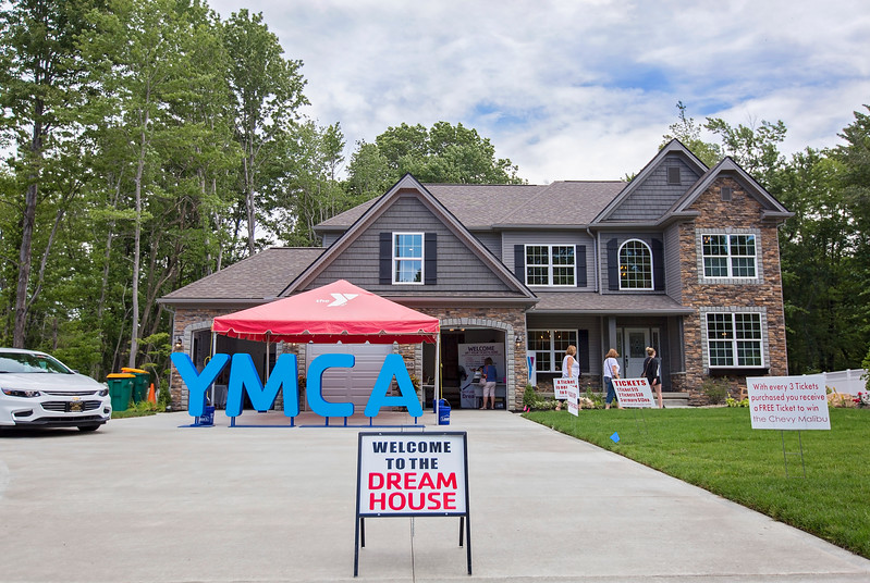 Lake County YMCA Dream House, 5295 SOM Center Road, Willoughby, was opened for tours July 1. Tours run seven days a week through Aug. 6.<br /> (Carrie Garland/For The News-Herald)