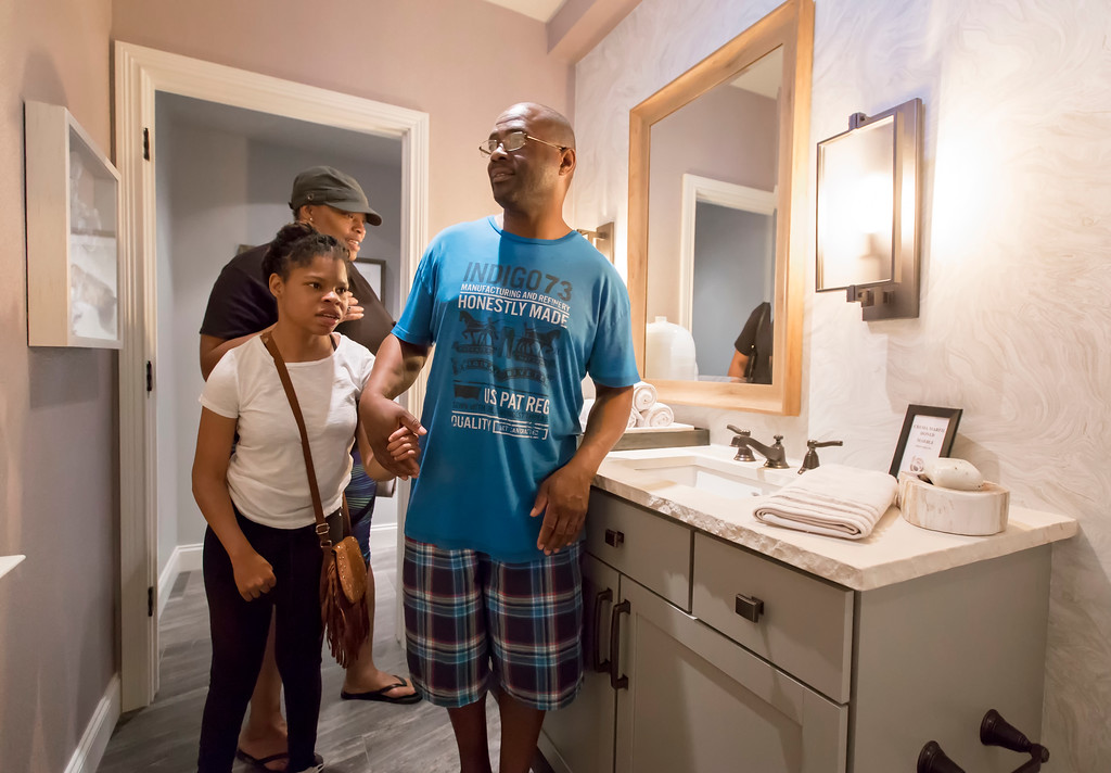 . Lake County YMCA Dream House, 5295 SOM Center Road, Willoughby, was opened for tours July 1. Tours run seven days a week through Aug. 6. (Carrie Garland/For The News-Herald)