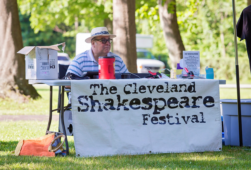 . The Cleveland Shakespeare Festival performed �The Taming of the Shrew� July 1 at James A. Garfield National Historic Site in Mentor. (Carrie Garland for The News-Herald)