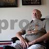 Sam Buckner for Shaw Media.<br /> Herb Holderman, a vietnam war veteren poses for a photo in his home on Sunday July 2, 2017.