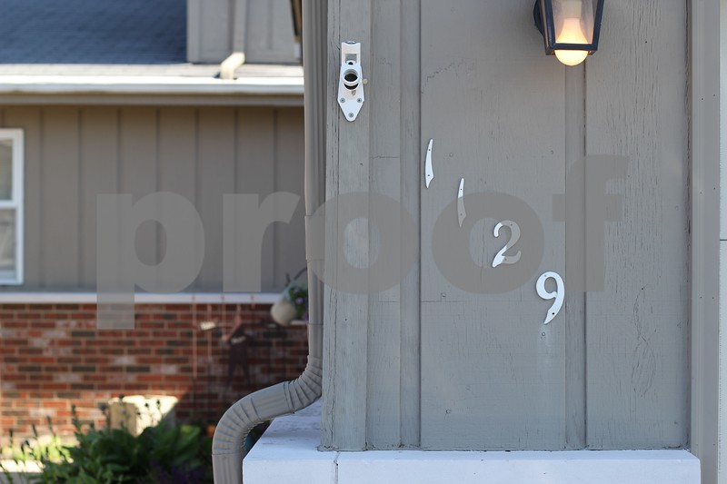The victim of the overnight shooting was reported to be a friend of the owner of 1129 Lillian Lane, Sandwich. The shooter lived next door in 1131 Lillian Lane. Both had lived on the street for less than a month, according to neighbors.  Photo by Ben Draper - bdraper@shawmedia.com