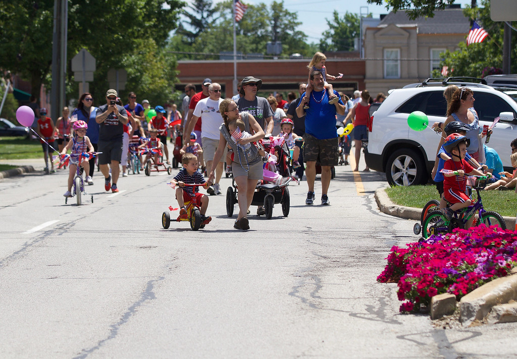 . Jonathan Tressler � The News-Herald <br> A scene from Chardon\'s Old Glory Day July 4, 2017.