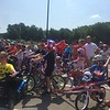Kevin Martin — The Morning Journal <br> Participants in the third annual Great Avon Bike Parade prepare at the starting line on July 4 at the Avon Aquatic Facility at 36265 Detroit Road.