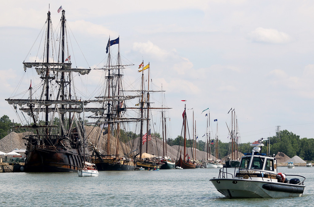 f67a14529f Jonathan Tressler - The News-Herald The nine historic vessels partaking in  Tall Ships