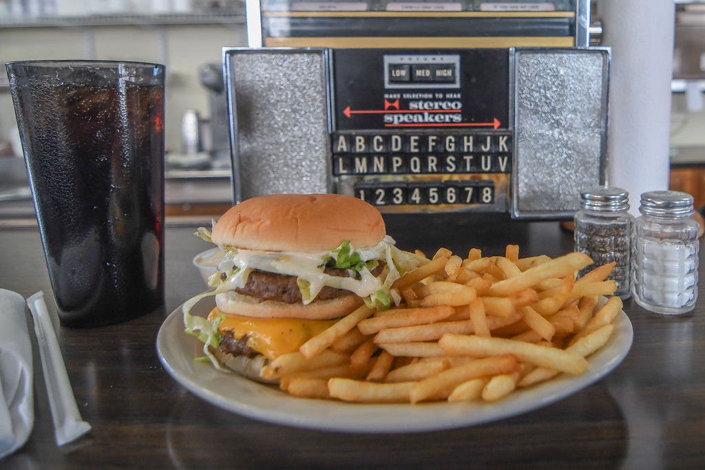 . Eric Bonzar � The Morning Journal <br> Midway Oh Boy Restaurant, 6620 Lake Ave., has been serving classic sandwiches�such as their signature, double-decker Oh Boy burger�since 1953.